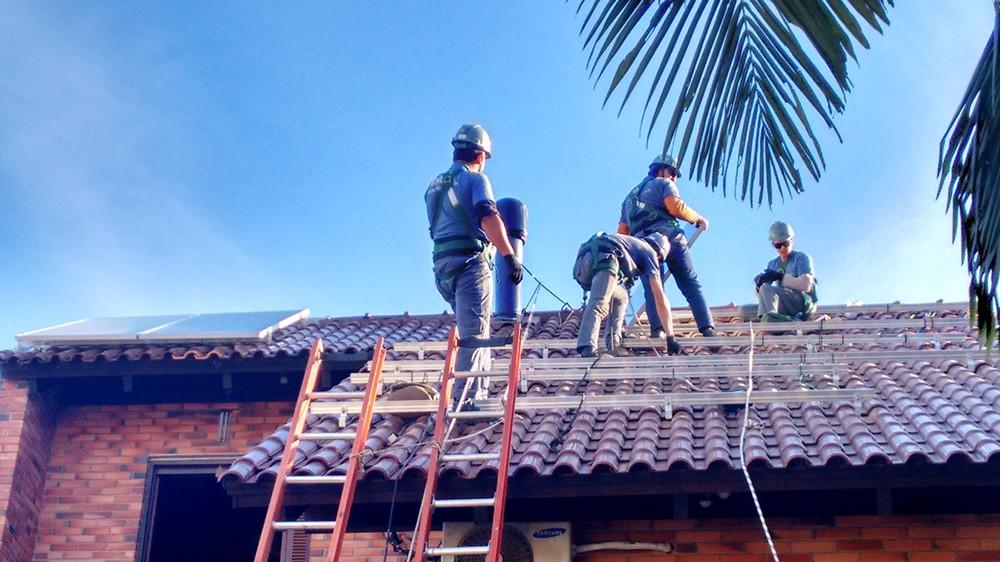 Residencia na Zona Sul de Porto Alegre – RS  Solar de 3,72kWpico