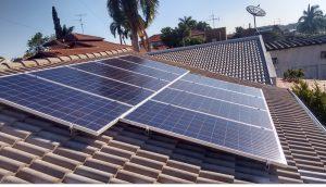 Projeto interior de SP Lins - módulos de paínes solar