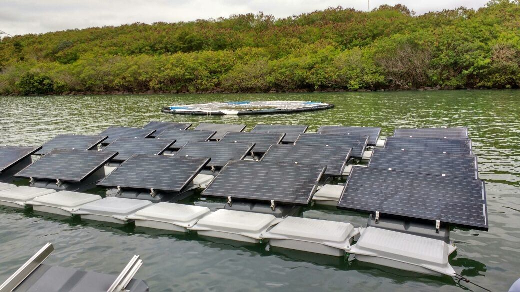 Blue Sol instala primeira usina solar flutuante do Brasil