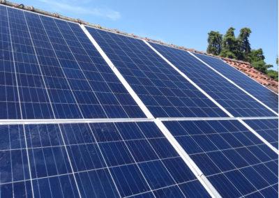 Massato - Painel solar instalado