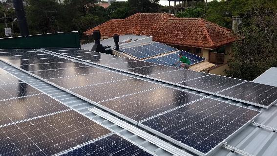 Projeto Energia Solar Bairro Tristeza em POA/RS