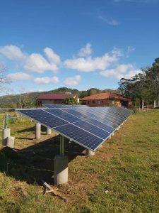 Usina de Solo Energia Solar Sistema 16,20 kWpico Placas