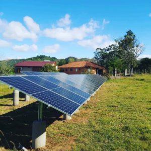 Usina de Solo Energia Solar Sistema 16,20 kWpico Placas 2