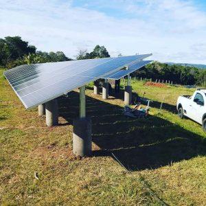 Usina de Solo Energia Solar Sistema 16,20 kWpico Placas 1