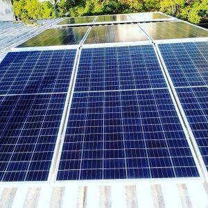 Placa de energia solar - Sistema de 4,68 kWpico