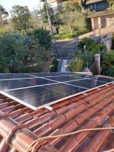 sistema de energia solar residencial 7.4kWpico
