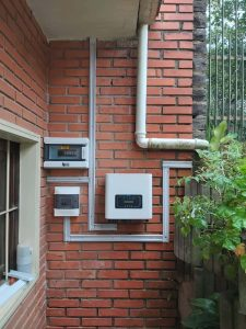 sistema de energia solar residencial 7.4kWpico- Inversor